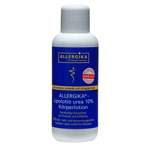 ALLERGIKA® Lipolotio urea 10 % 200 ml Körperlotion PZN 09264338