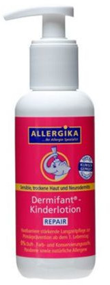 ALLERGIKA® Dermifant® Kinderlotion AKUT 200 ml PZN 13716705