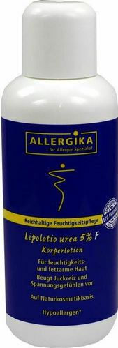 ALLERGIKA® Lipolotio urea 5 % F 200 ml Körperlotion PZN 09264321